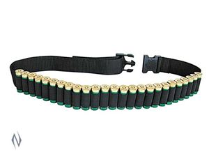 Picture of ALLEN 12G NYLON AMMO BELT BLACK (25 RNDS)