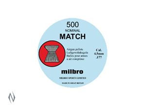 Picture of MILBRO MATCH 177 AIR PELLETS 500