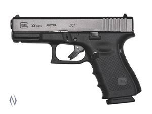 Picture of GLOCK 32 357 SIG SUB COMPACT 13 SHOT GEN 4 102MM PISTOL