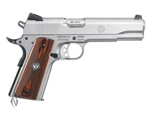 Picture of RUGER SR 1911 45ACP 8 SHOT STAINLESS 125MM CENTREFIRE AUTO