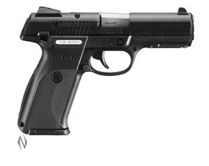 Picture of RUGER SR9 9MM 17 SHOT BLACK S/S 105MM CENTREFIRE AUTO