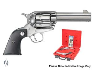 Picture of RUGER VAQUERO SASS (PAIR) 357 STAINLESS 117MM CENREFIRE REVOLVER