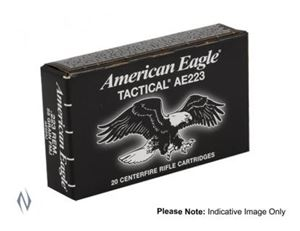 Picture of FEDERAL 223 REM 50GR JHP AMERICAN EAGLE PACK 20