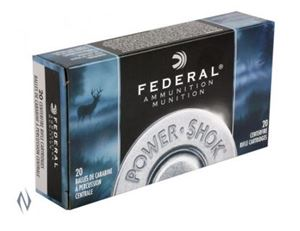 Picture of FEDERAL 6.5X55 SWED 140GR SP POWER-SHOK 20 PACK