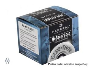 """Picture of FEDERAL 410G 2.5"""" 6 GAMESHOK 1200 FPS 25 PACK"""