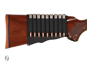 Picture of ALLEN BUTT STOCK RIFLE CARTRIDGE HOLDER BLACK (9 RNDS)