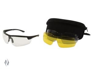 Picture of ALLEN ION BALLISTIC SHOOTING GLASSES 3 LENS SET