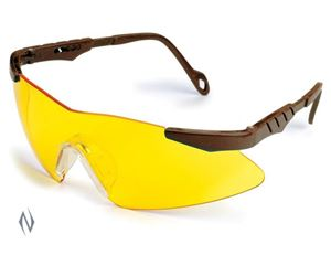 Picture of ALLEN RANGEMASTER SHOOTING GLASSES YELLOW LENS