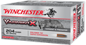 Picture of WINCHESTER VARMINT X 204 RUGER 32GRAIN POLYMER TIP