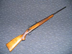 Picture of WINCHESTER MODEL 70 SECOND HAND CENTREFIRE RIFLE