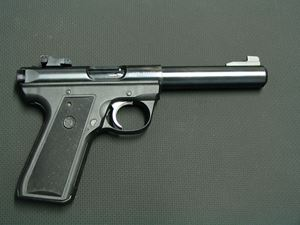 Picture of RUGER 22/45 TARGET 222 SECOND HAND PISTOL