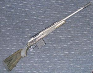 Picture of RUGER GUNSITE SCOUT 308 SECOND HAND CENTREFIRE RIFLE