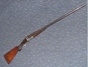 Picture of HOLLOWAY & CO SXS 12G BR SECOND HAND SHOTGUN