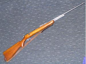 Picture of BSA SPORTSMAN 10 22 BOLT ACTION RIMFIRE SECOND HAND RIFLE
