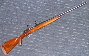 Picture of MAUSER 98 243 BO SECOND HAND CENTREFIRE RIFLE